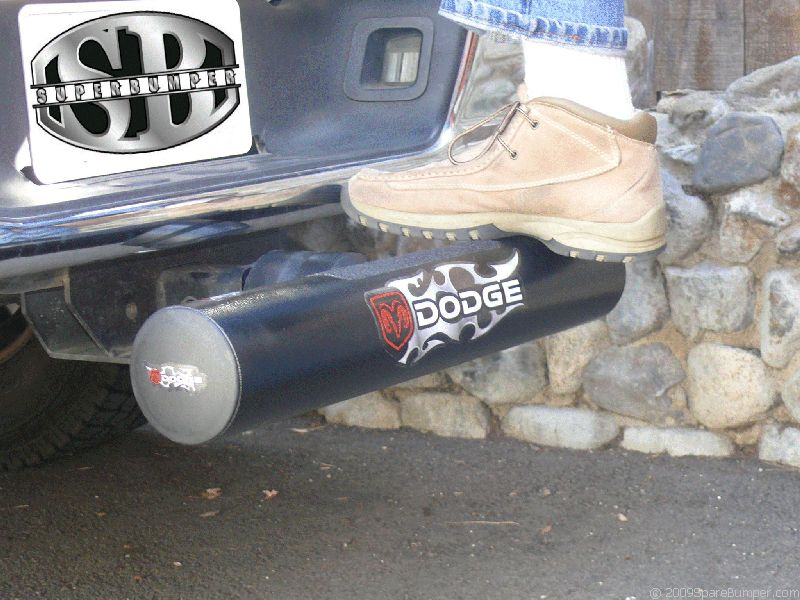Superbumper Hitch Step helps Reduce Rear End Collision Damage - Superbumper.com