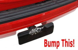 "Bumper Shield / Whiplash Cover ""Safety Hitch Cover & Bumper Guard"""